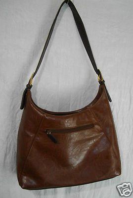Mondani Handbag Brown Shoulder Bag Pocketbook Purse