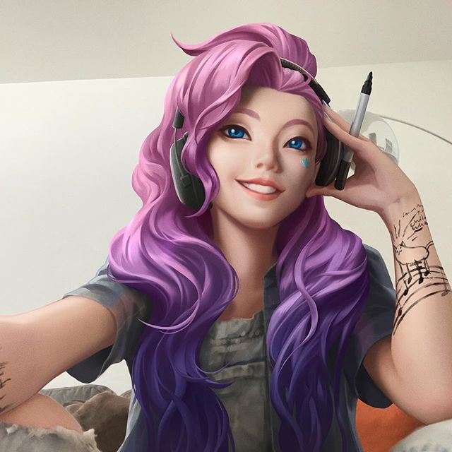 Seraphine In 2020 Lol League Of Legends League Of Legends Characters Lol Champions