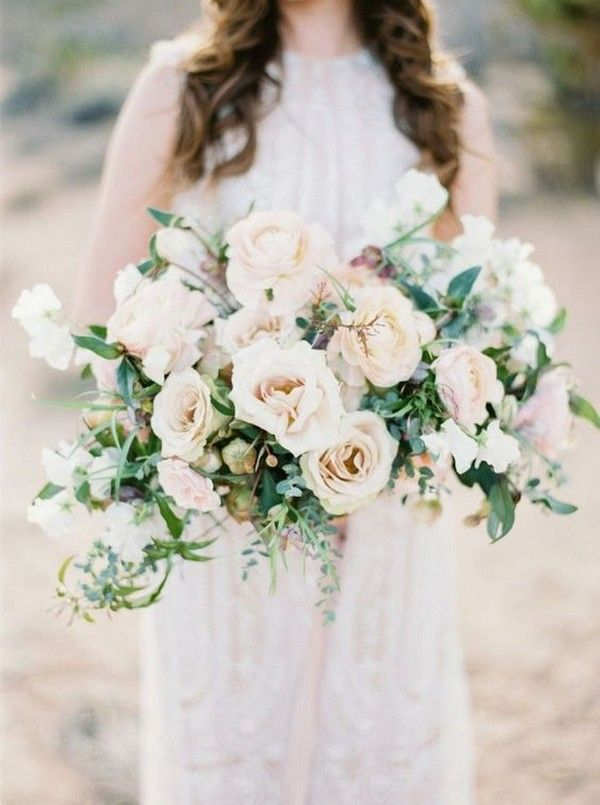 20 Elegant Neutral Wedding Bouquets Ideas for 2020 Trends