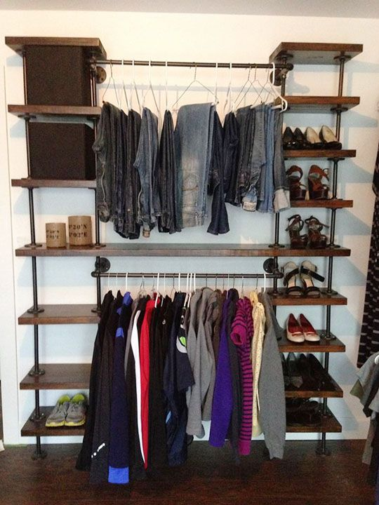 Delicieux Diy Closet Organizer Ideas That Can Make Your Room Attractive And Unique
