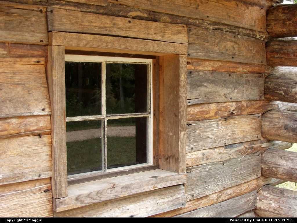 charming log cabin window #7: historic log cabins in oldham county ky - Bing images