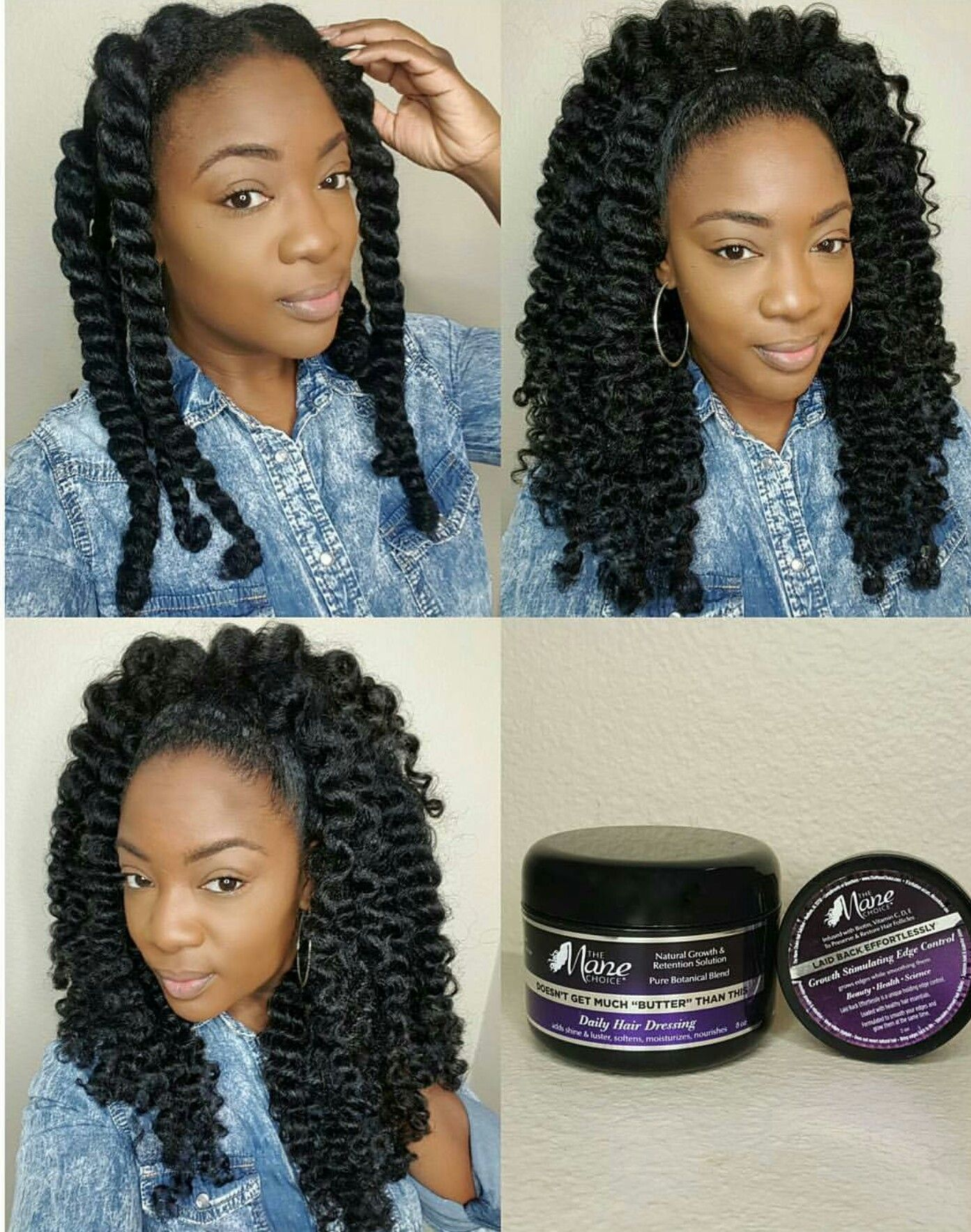 Twist Out On Long Hair Natural Hair Styles Hair Styles Long Hair Styles