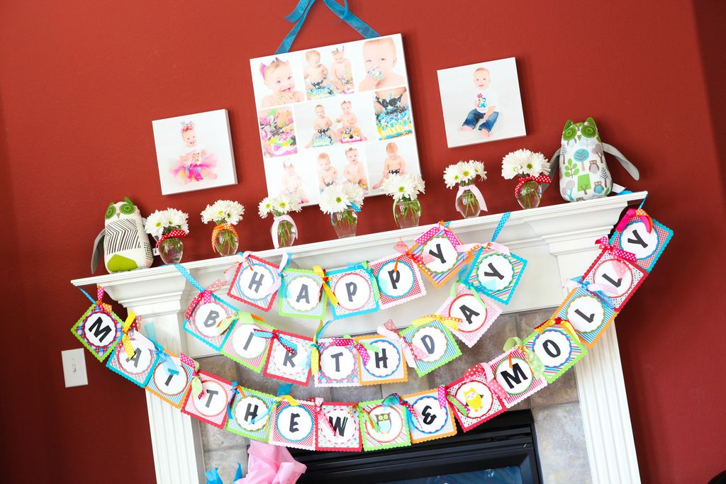 3 layer garland Party Ideas Pinterest Owl parties Owl and