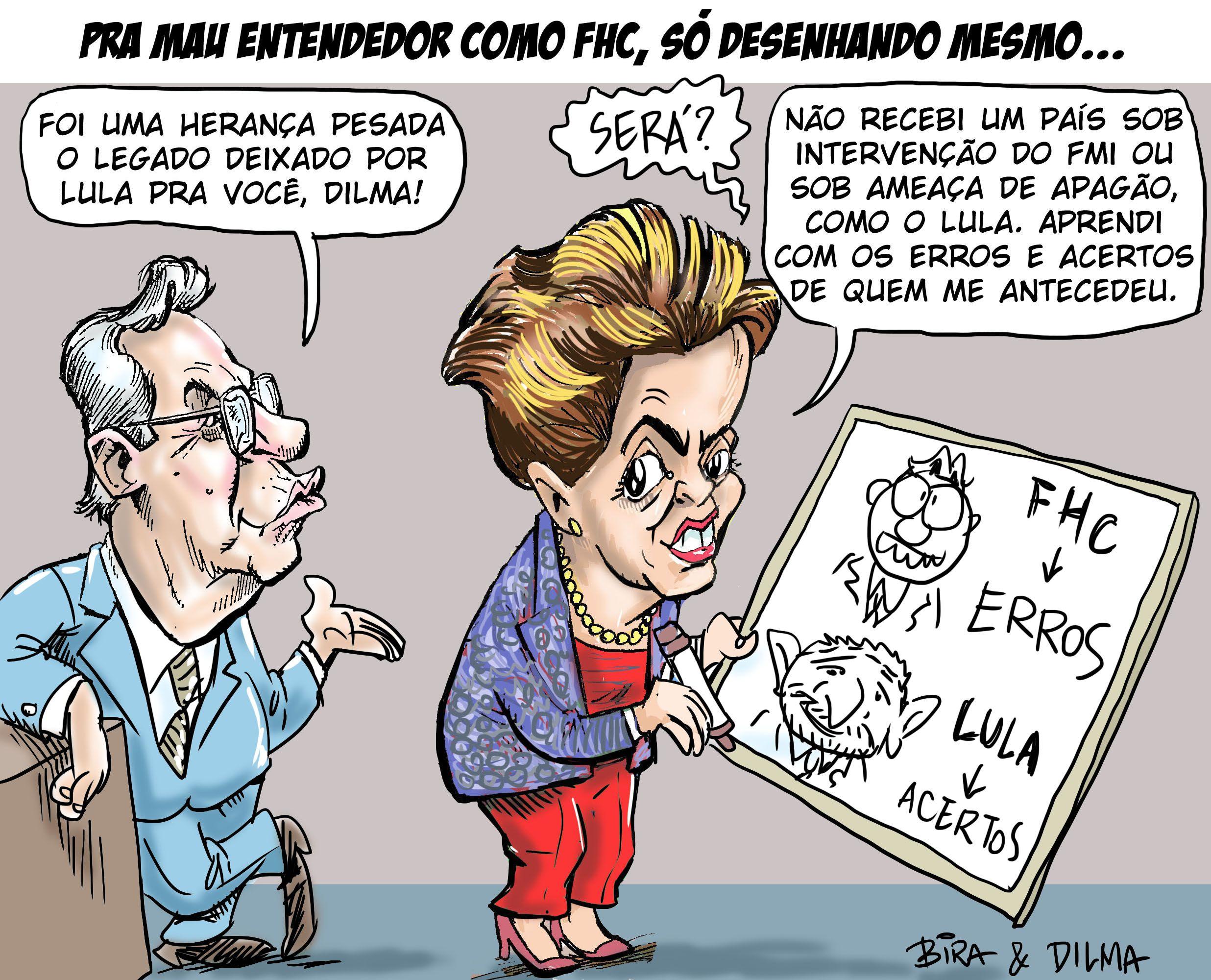 Resposta de Dilma ao Legado de FHC