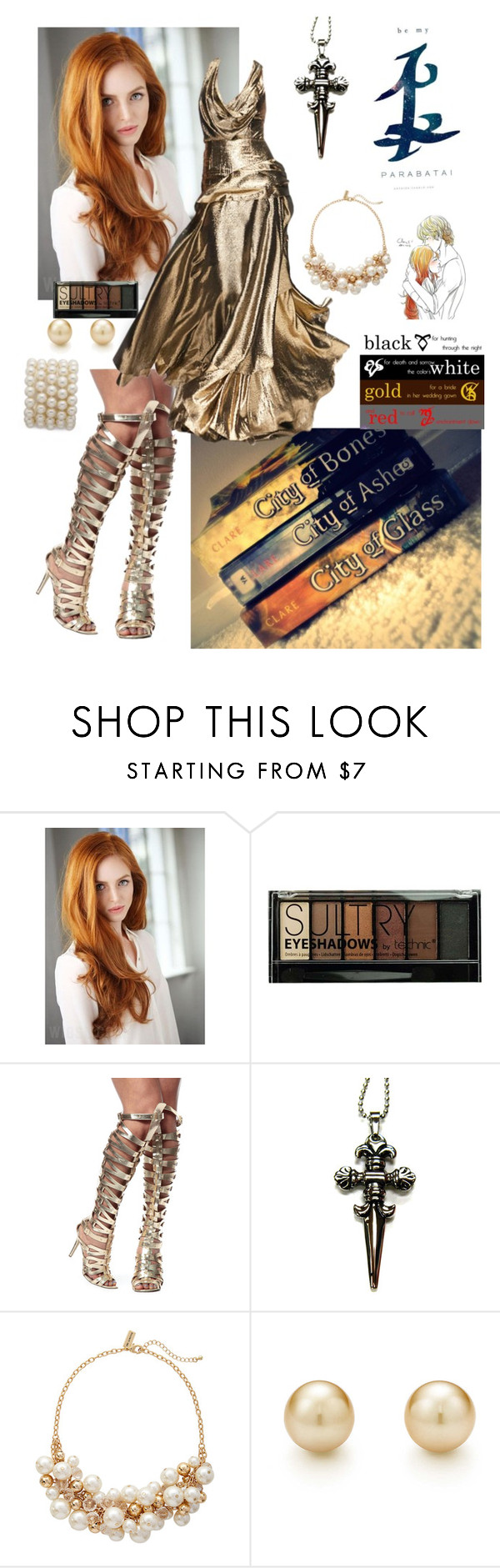 """""""Clary Fray-Shadowhunter"""" by meepers140 ❤ liked on Polyvore featuring Boohoo, Rubin Singer and The Limited"""