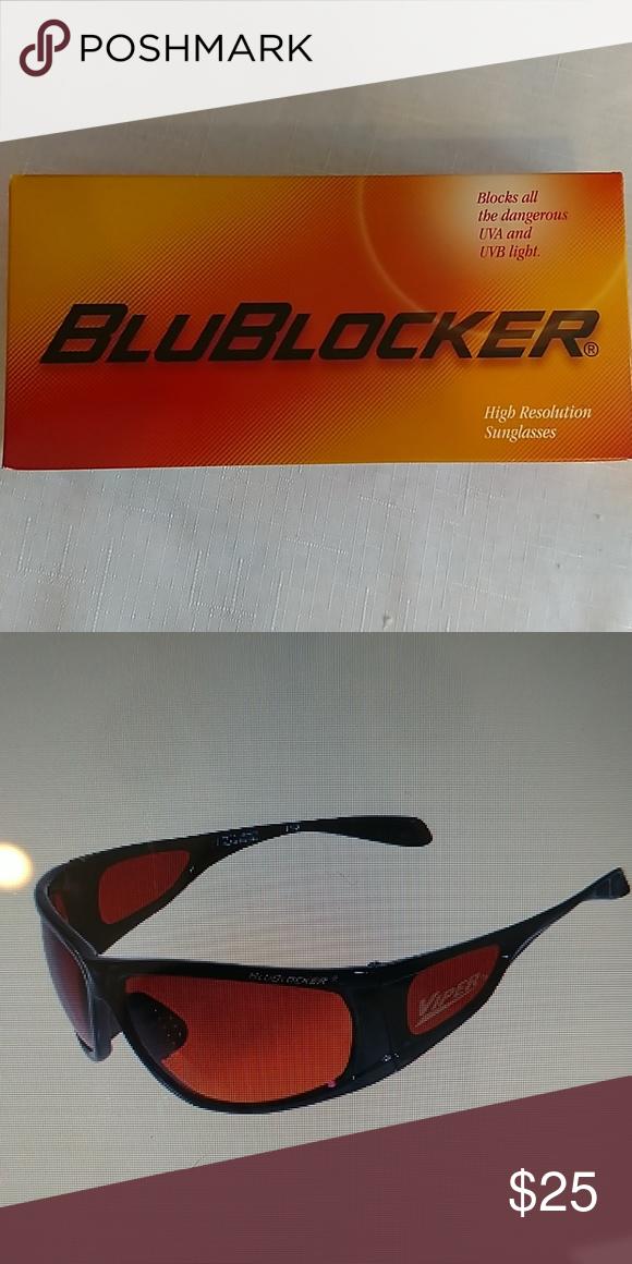 5467d06aa8 Mens blublocker black viper sunglasses Brand new in the box BluBlocker  Accessories Sunglasses
