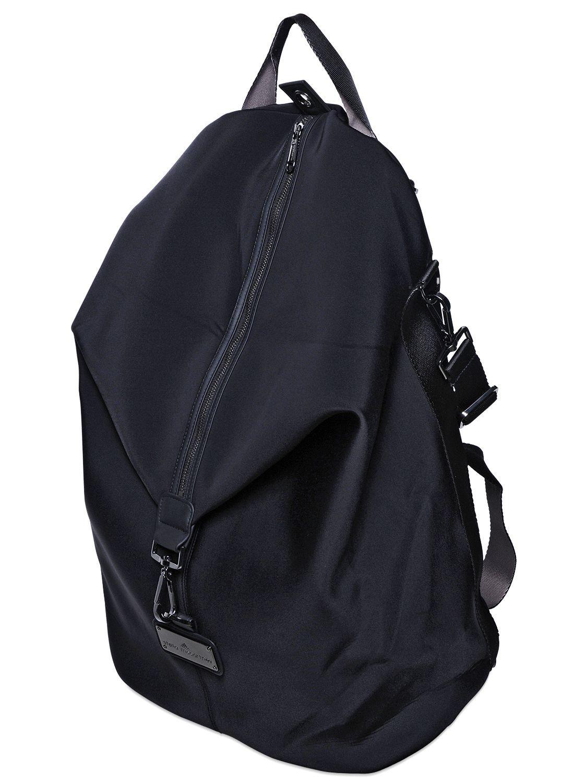 Adidas By Stella McCartney   Black Oversize Studio Backpack   Lyst