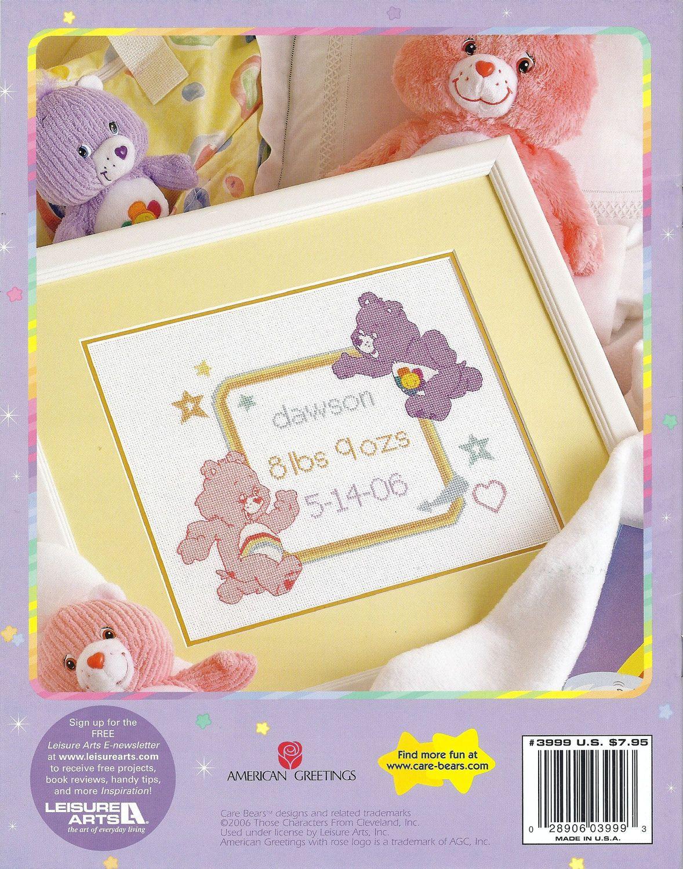 Care Bears Baby Keepsakes Birth Sampler 15 Baby Stitchery