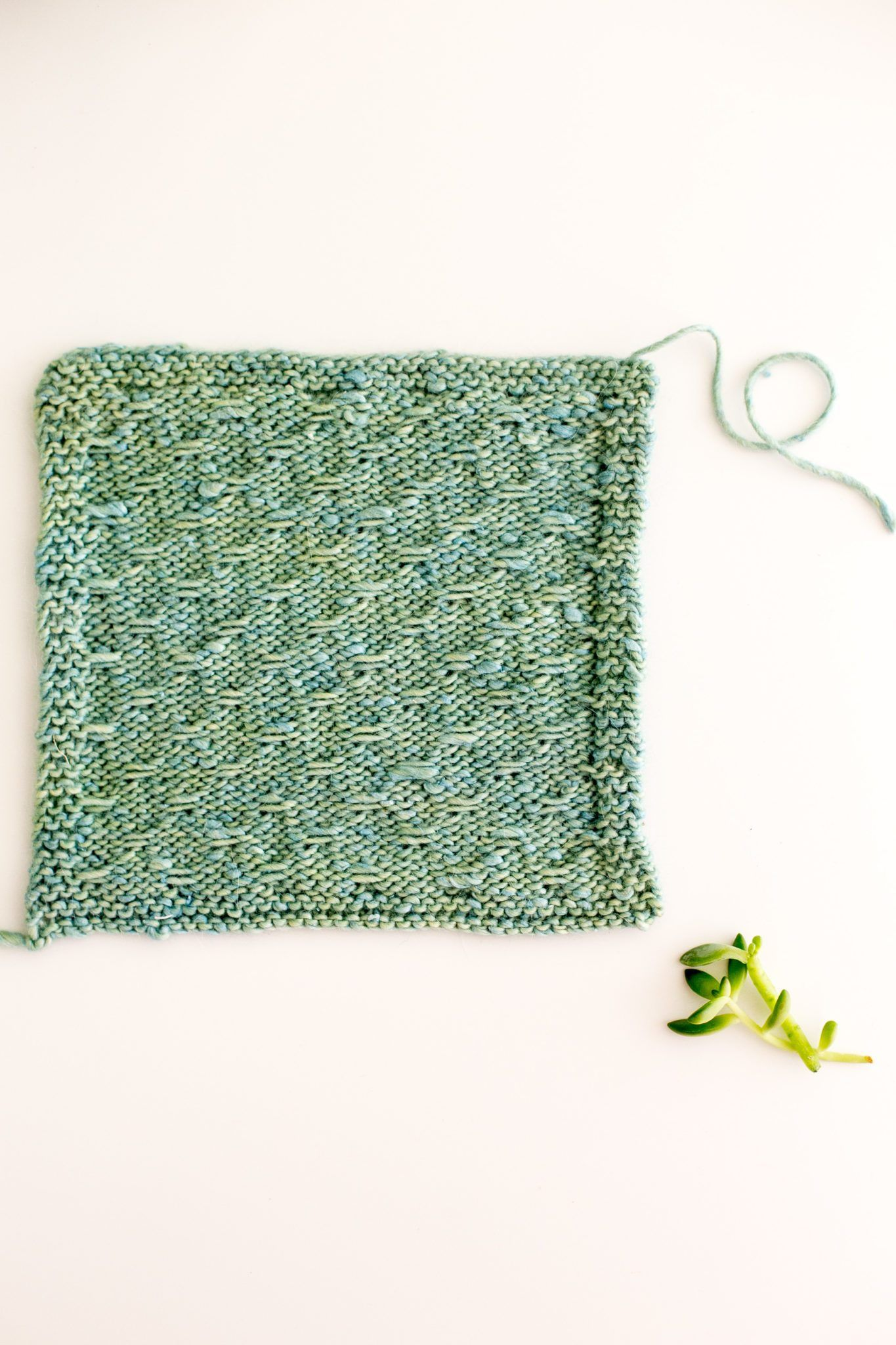 Slip Stitch Knitting Pattern How To: Trellis Double Slip Stitch #slipstitch