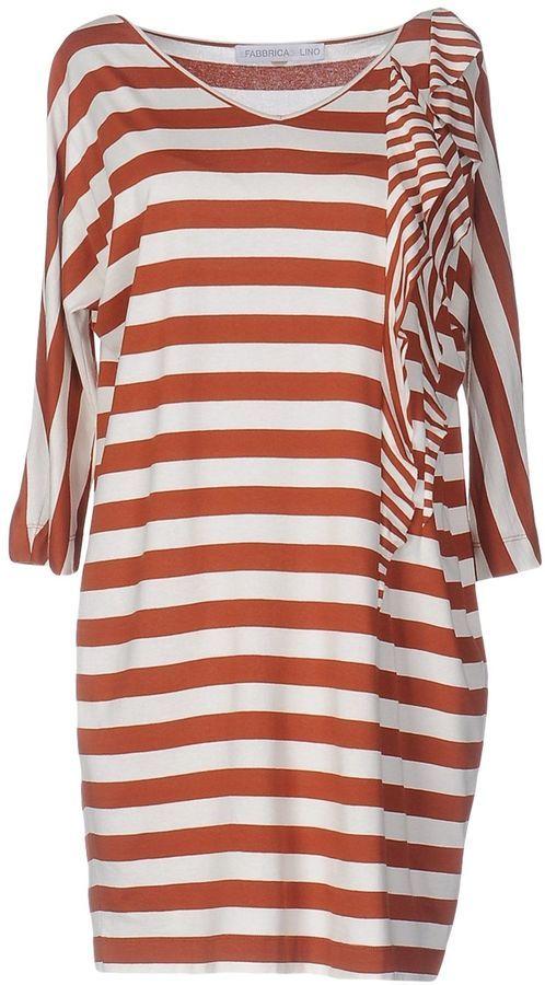 LA FABBRICA del LINO Short dresses