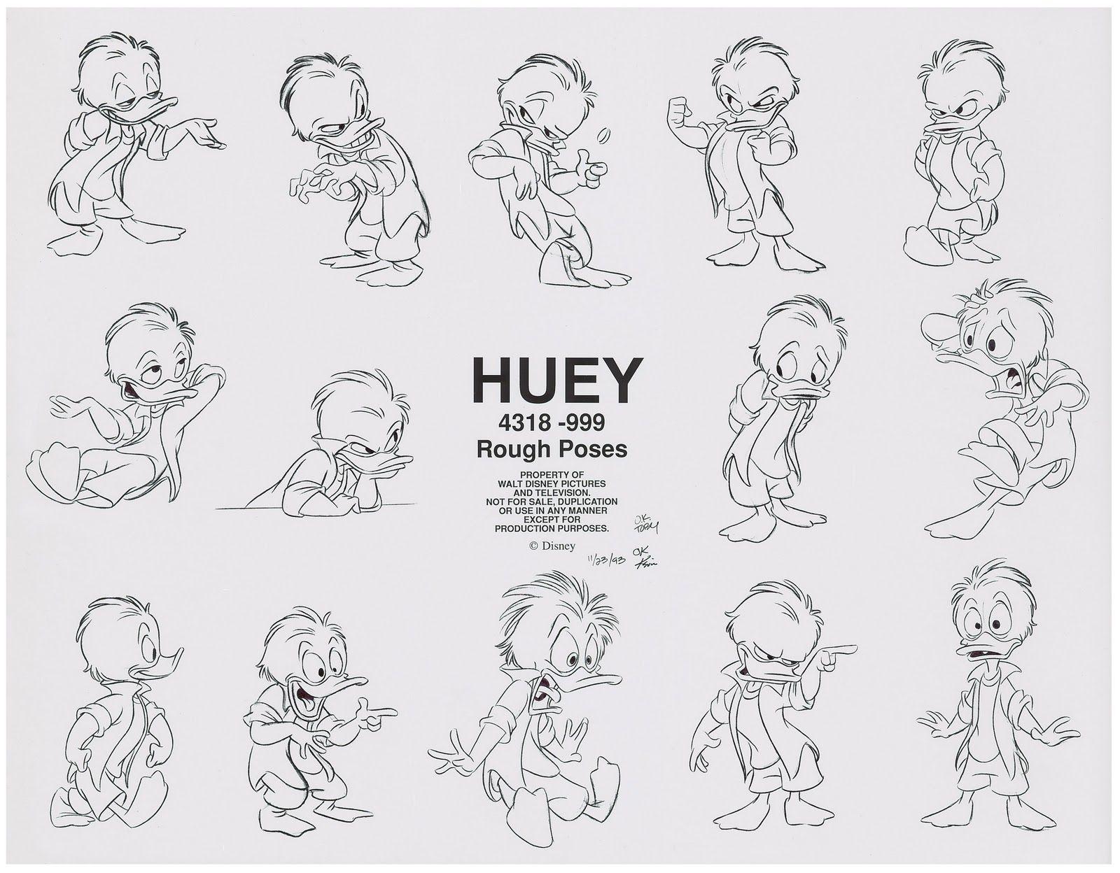 Toby Shelton Stuff I Did Huey Dewey Amp Louie Model
