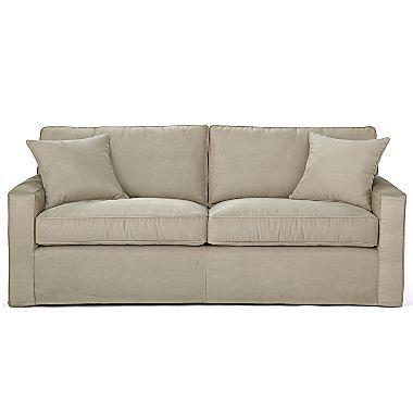 Slipcover Sofa 500 In Charcoal Slipcovered Sofa Sofa Slipcovers