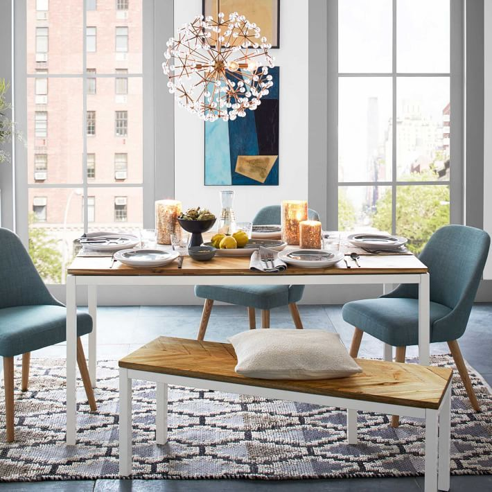 Box Frame Chevron Dining Table  Dining Room  Pinterest  Product New Picture Frames For Dining Room Design Inspiration