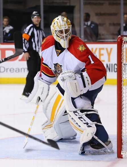 New York Ny December 15 Roberto Luongo 1 Of The Florida