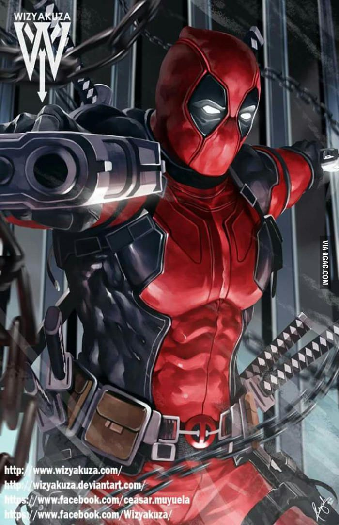 Pin by HERO WORLD! on DEADPOOL: HEAD AND SHOULDER ...