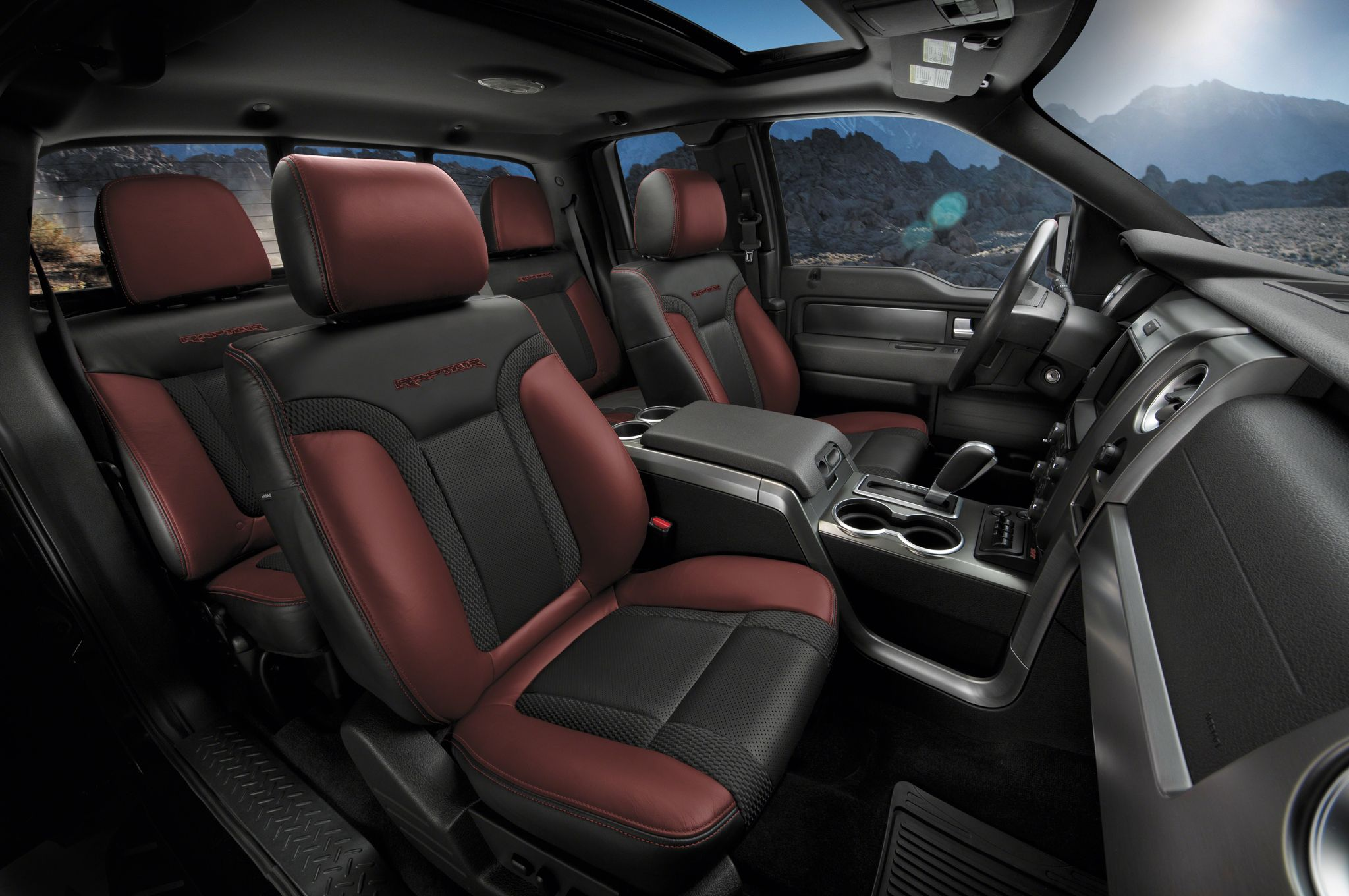 2017 ford raptor f150 interior