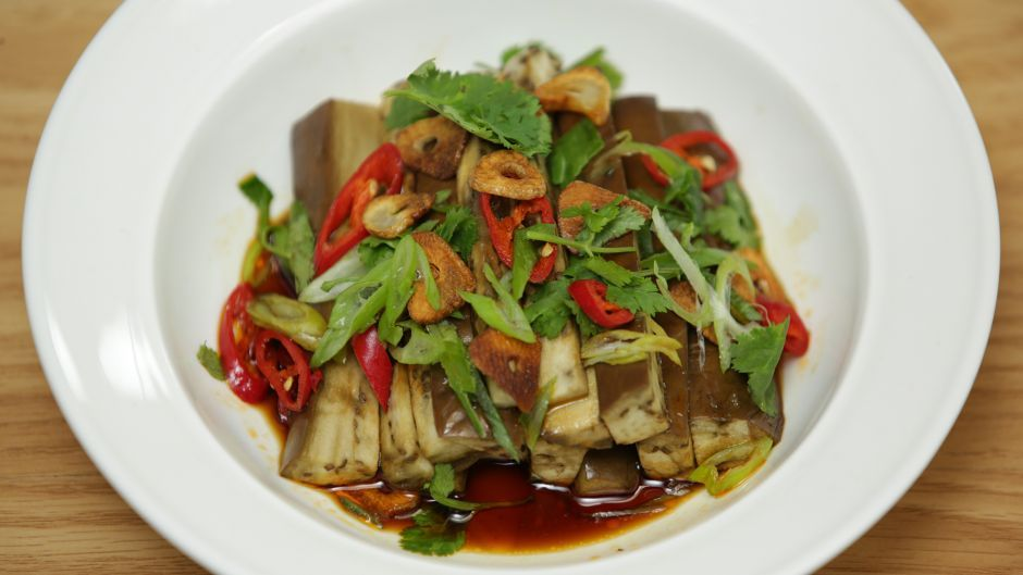 Chinese eggplant salad about eggplant pinterest asian food join food hero 2015 winner debbie wong as she shares her favorite super simple recipes forumfinder Images