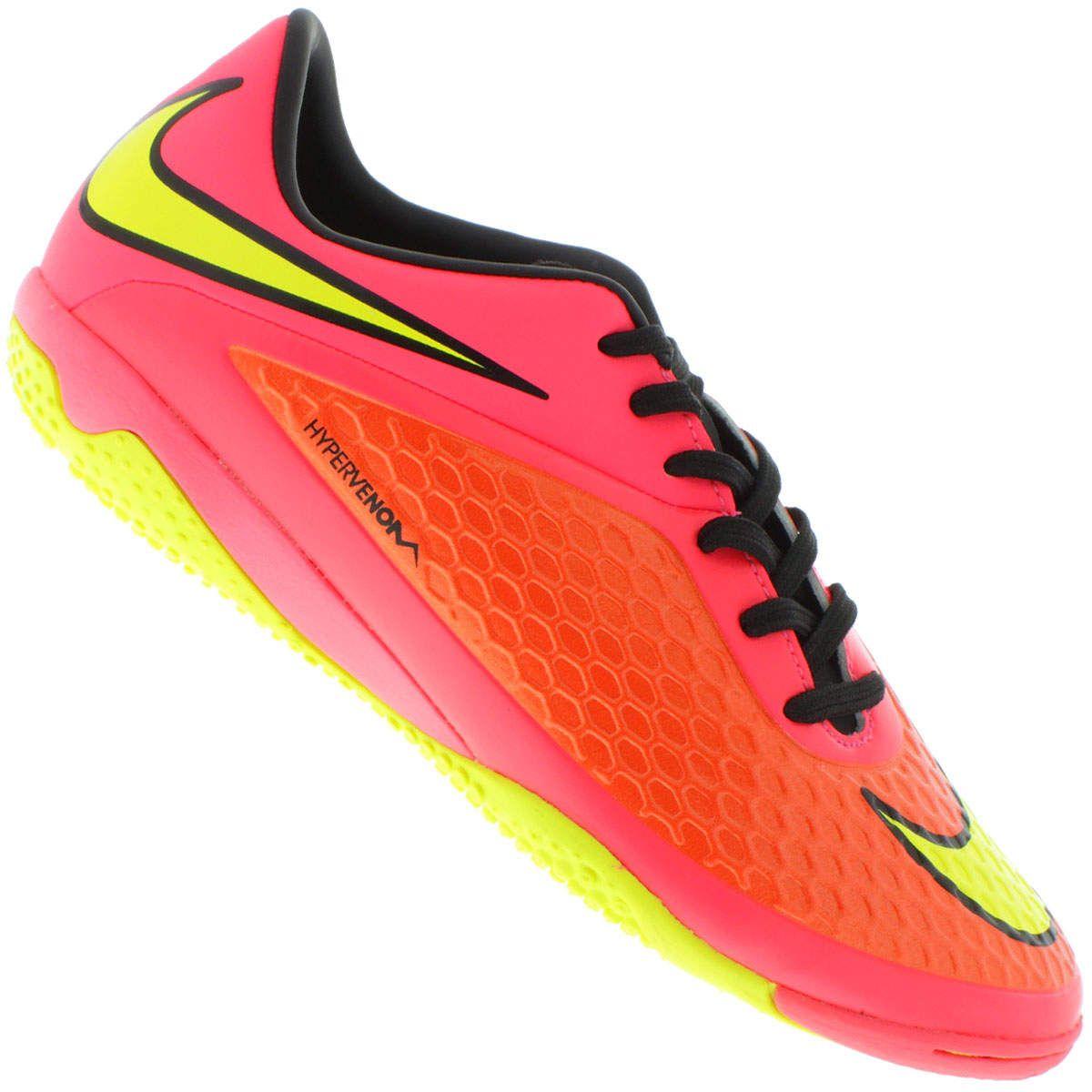 Centauro - Chuteira de Futsal Nike Hypervenom Phelon IC  bdae71cfa17d7