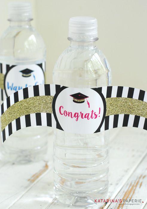 Free Printable Graduation Water Bottle Labels Water Bottle