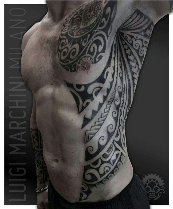 20+ Tatouage tribal cote homme trends