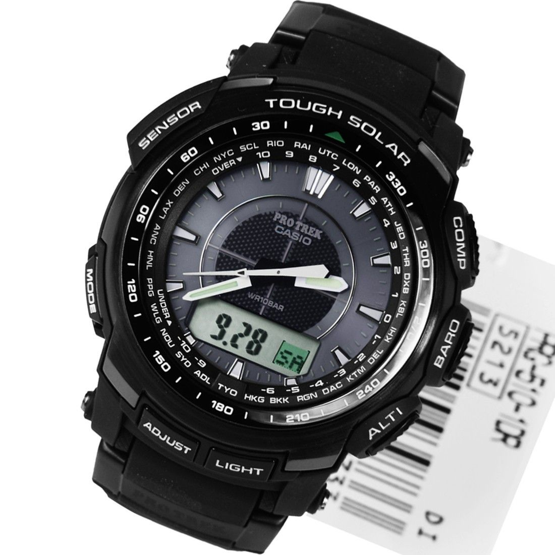 Casio Protrek WR100 Tough Solar Mens Watch PRG5101DR