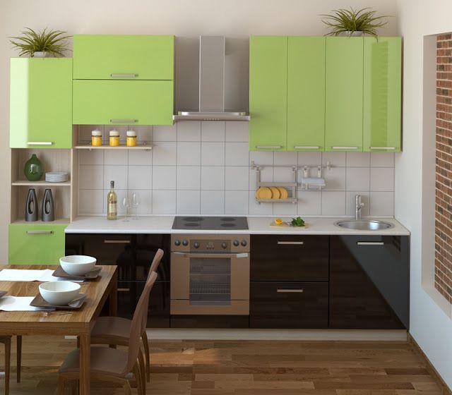 Kleinen Küche Designs Pinterest Küche hat vollständig mit Möbeln ...