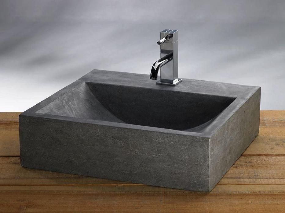 Lambini designs b stone waskom grey himalaya natuursteen 1