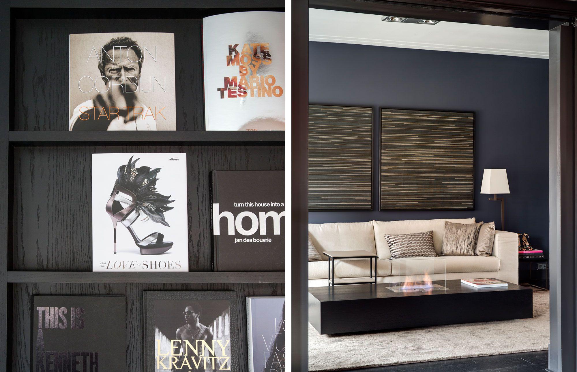 Choc studio modern chic interiors apartment amsterdam