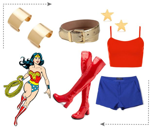 roupas da mulher maravilha - Pesquisa Google