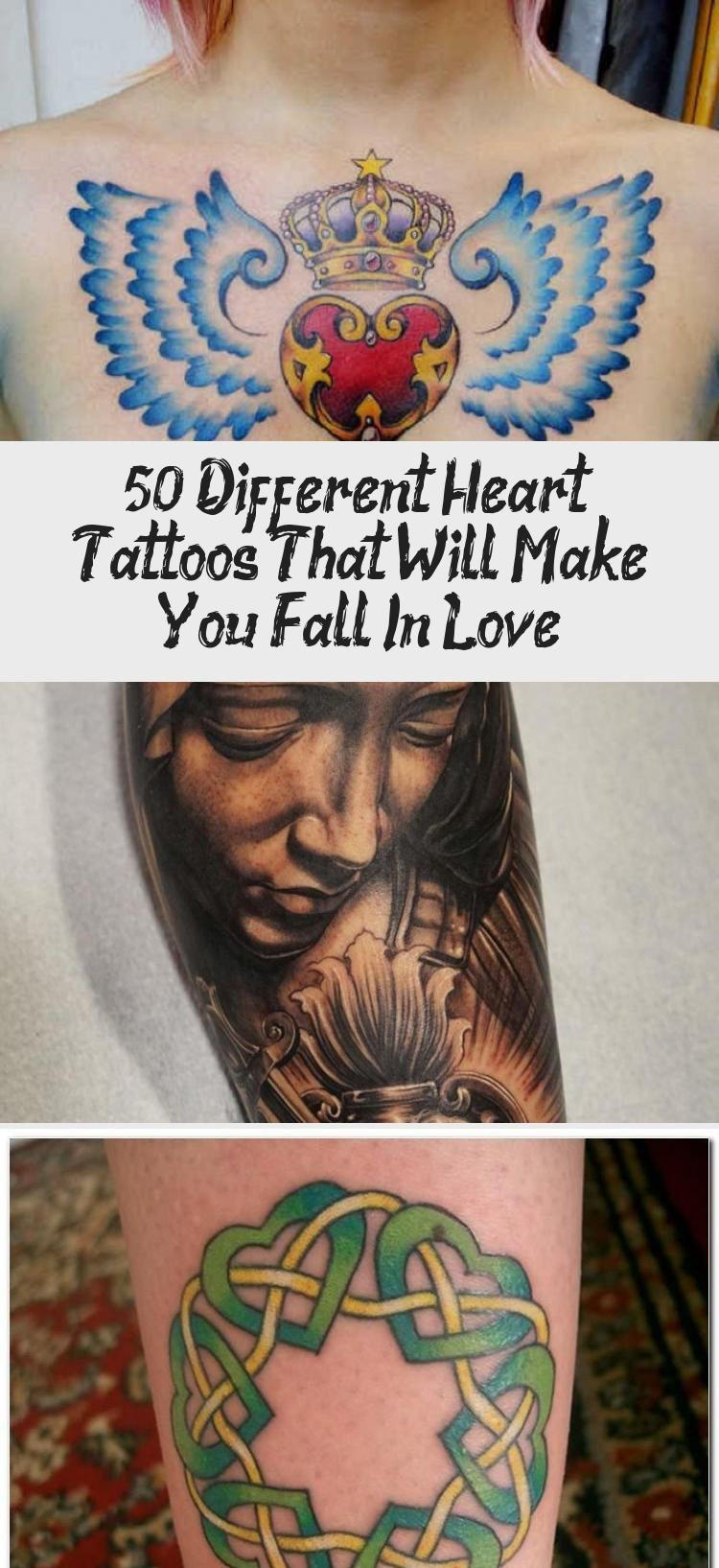 50+ Different Heart Tattoos That Will Make You Fall In