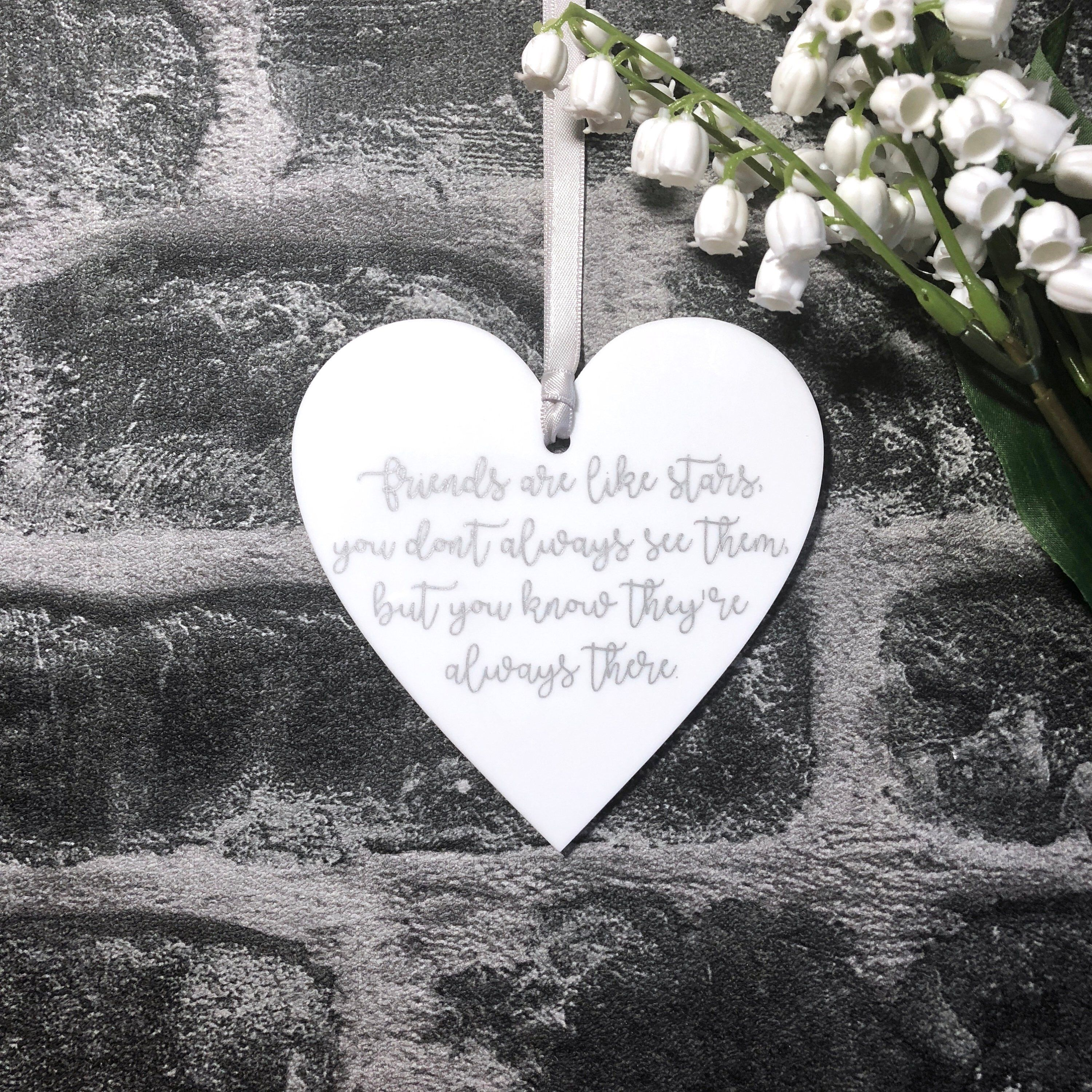 Floral Design Plaque,10cm x 10cm Hand made Live Love Laugh Gift,Home wooden