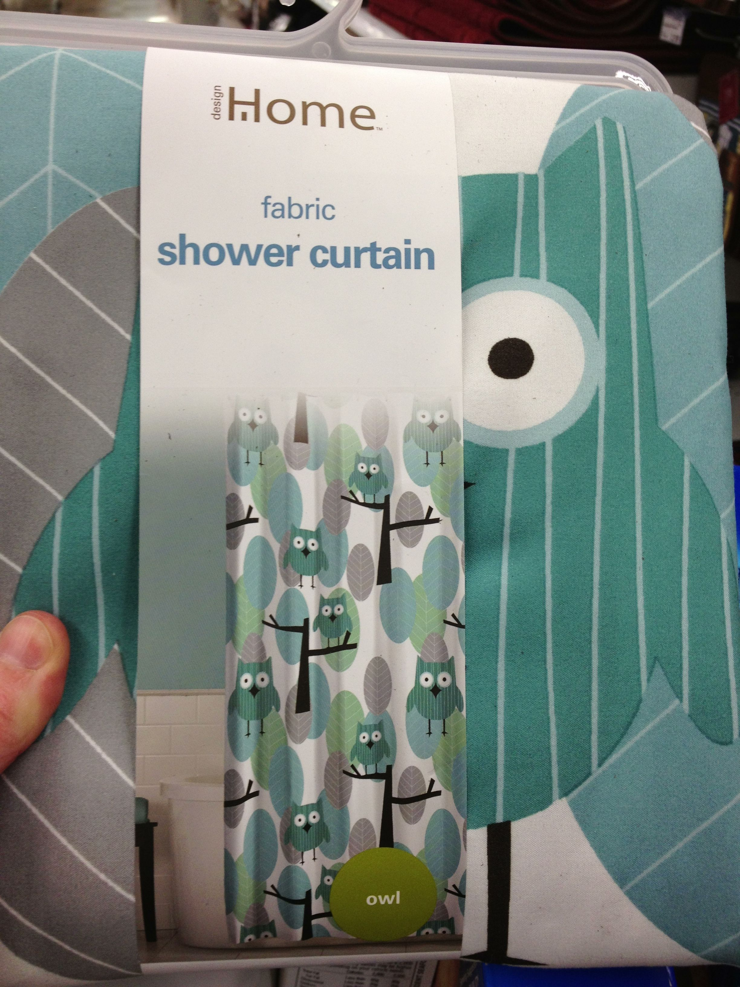 Owl Shower Curtain From Meijer Basement Remodeling Apartment Living Owls