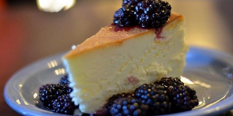 Crust-less Cheesecake Rock River Cafe, Chatham