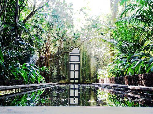 Tropical garden|Lunuganga