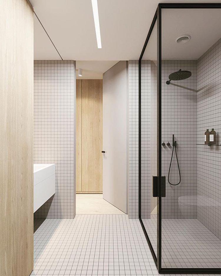 Scandinavian Design Concept Simple Form Foton Och Videoklipp Pa Instagram Stylish Bathroom Modern Luxury Bathroom Simple Bathroom