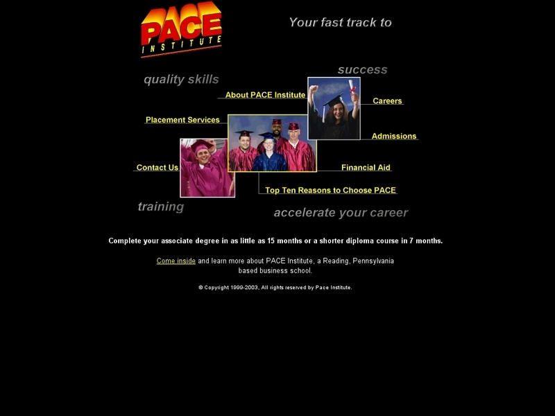 Pace institute pennsylvania colleges university list