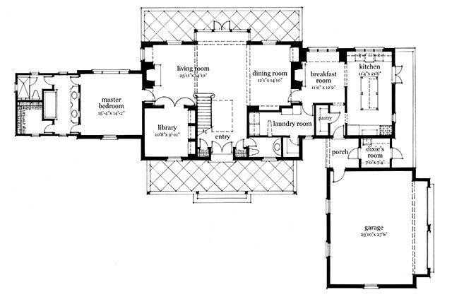 Martin Southern Living House Plans Bill Ingram Southern Living House Plans House Plans