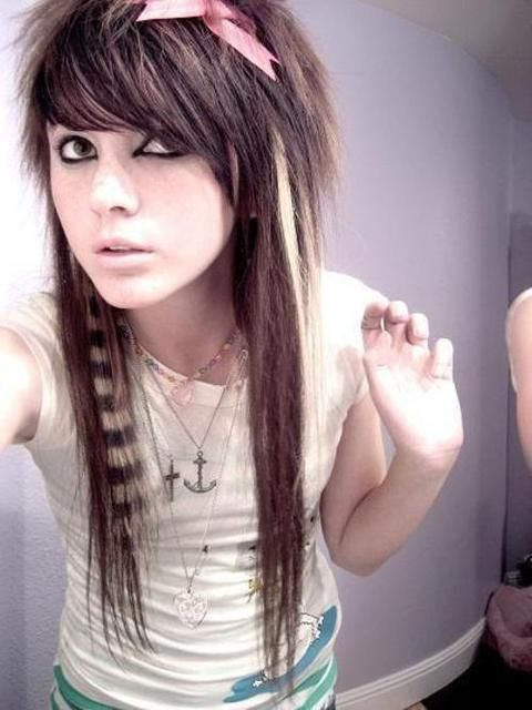 Hair style teen