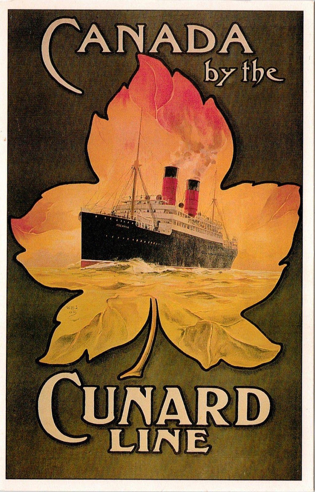 Canada - Cunard Line 1920s