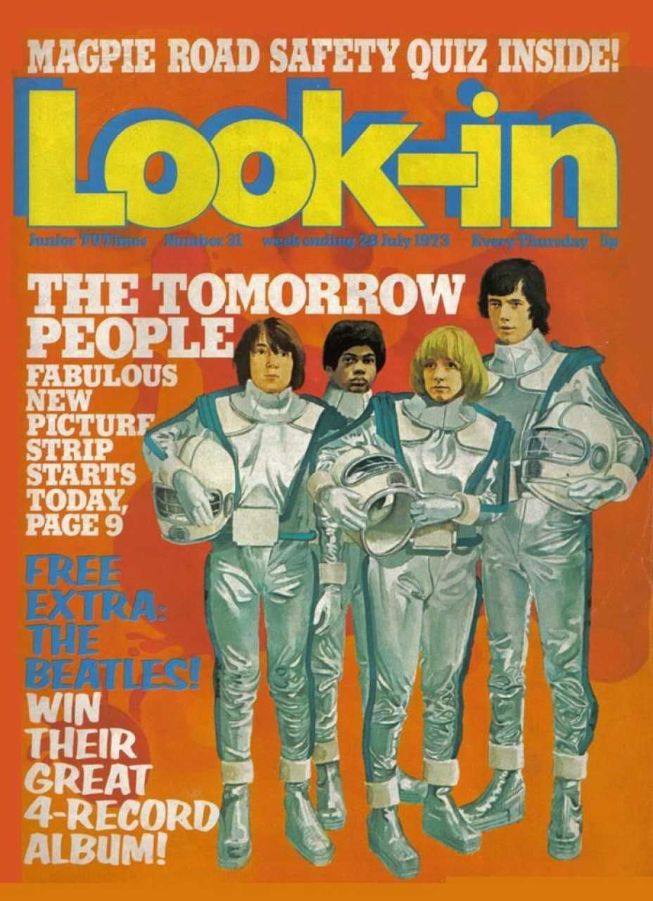 Lookin 31 july 1973 featuring the tomorrow