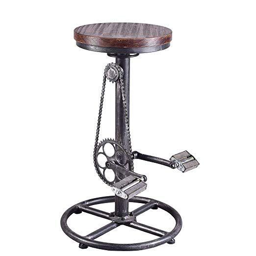amazon industrial bar stoolswivel vintage coffee