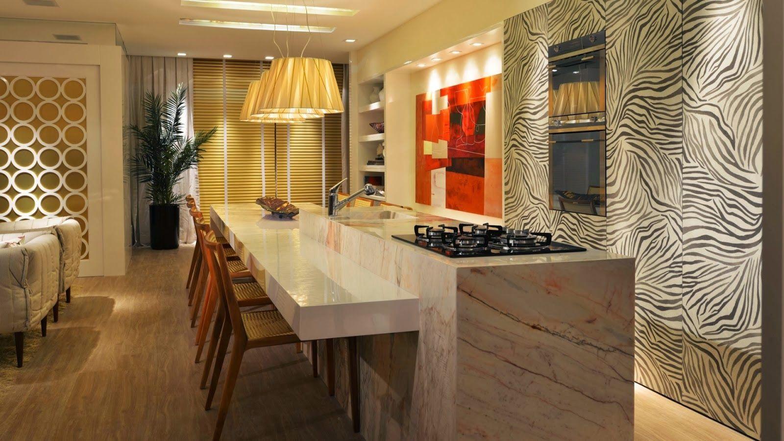 30 bancadas de cozinhas gourmet inspire se em modelos - Bancadas de cocina ...