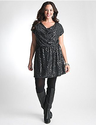 Plus Size Sequin Dress by Lane Bryant | Fave Picks for Big ...