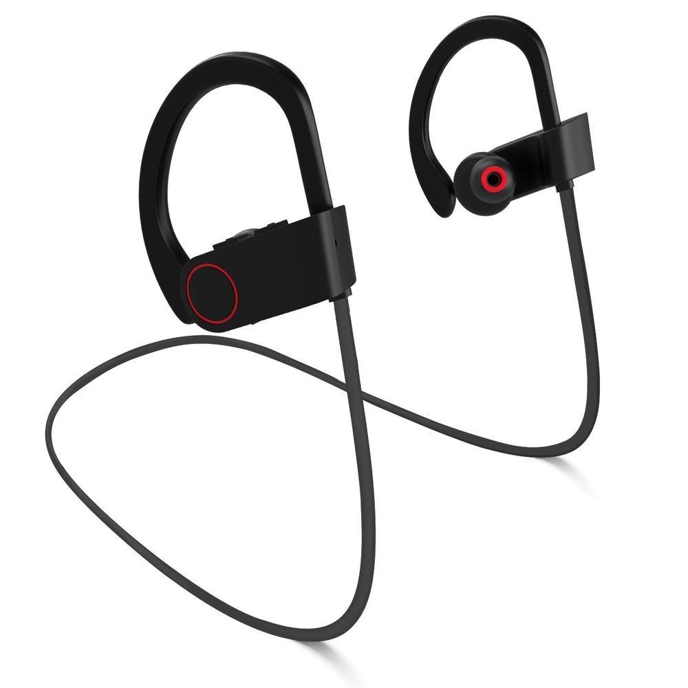 separation shoes 9af11 78d2a SENSO Bluetooth Headphones Wireless Sports Earphones Hooks Mic IPX7 ...