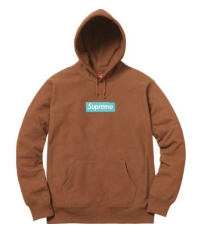 9b42493a FOR SALE: Supreme Box Logo Hoodie in Rust/Brown. Size: L | Supreme ...