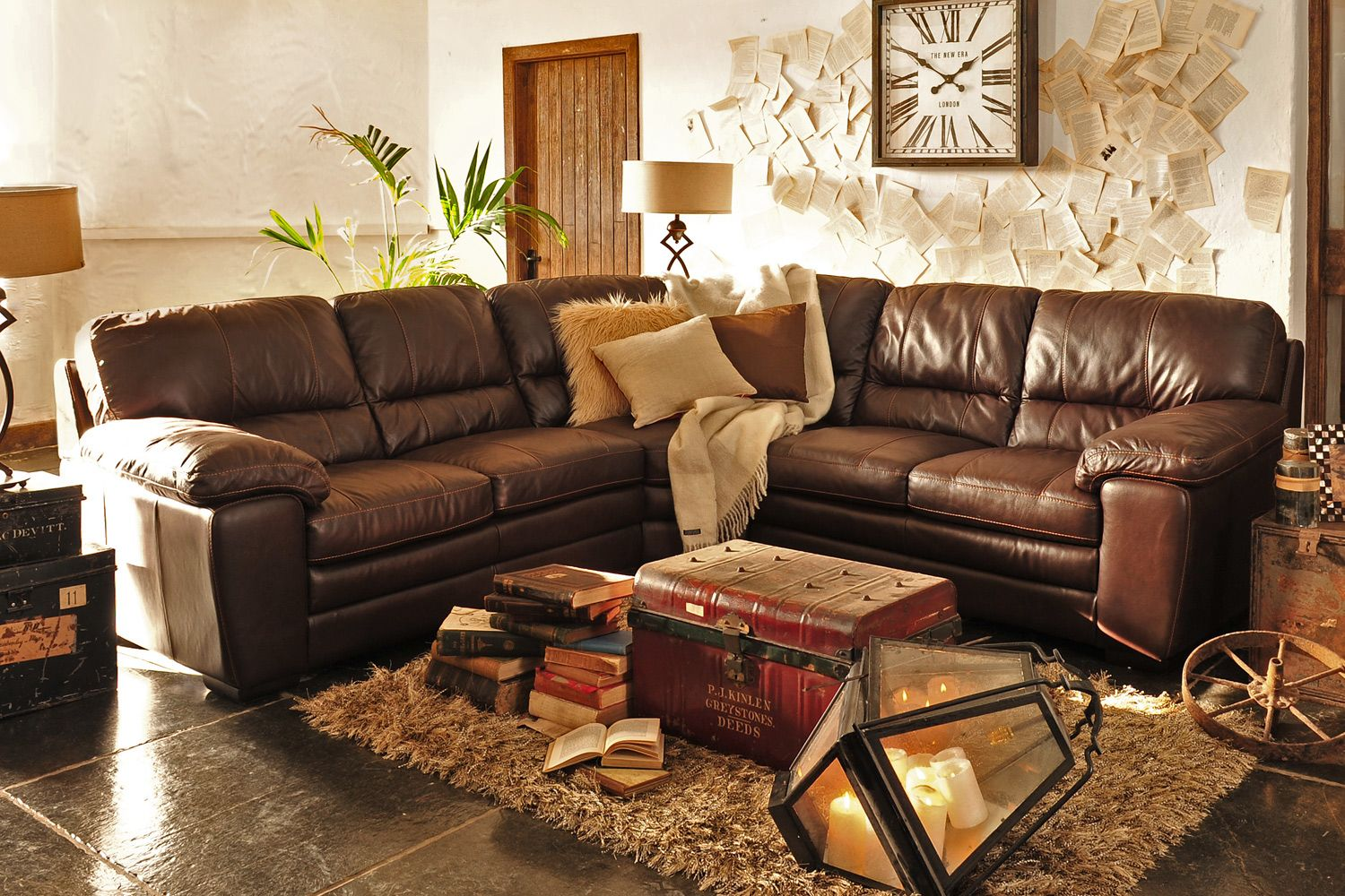 Liberty Leather Corner Sofa from Harvey Norman Ireland