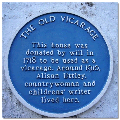 Alison Uttley lived in Knutsford; one of my favourite authors as a child.
