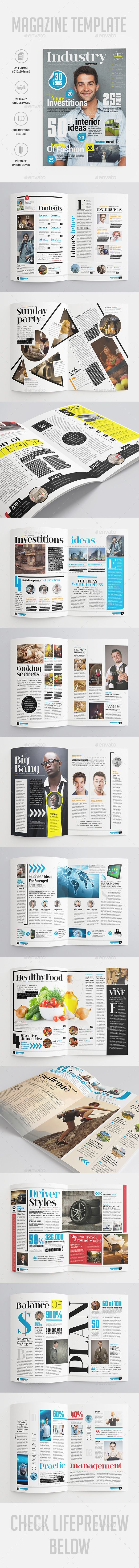 Industry Magazine | Diseño editorial y Editorial