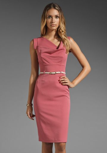 0af0a3c422 BLACK HALO Jackie O Dress in Antique Rose at Revolve Clothing - Free  Shipping!