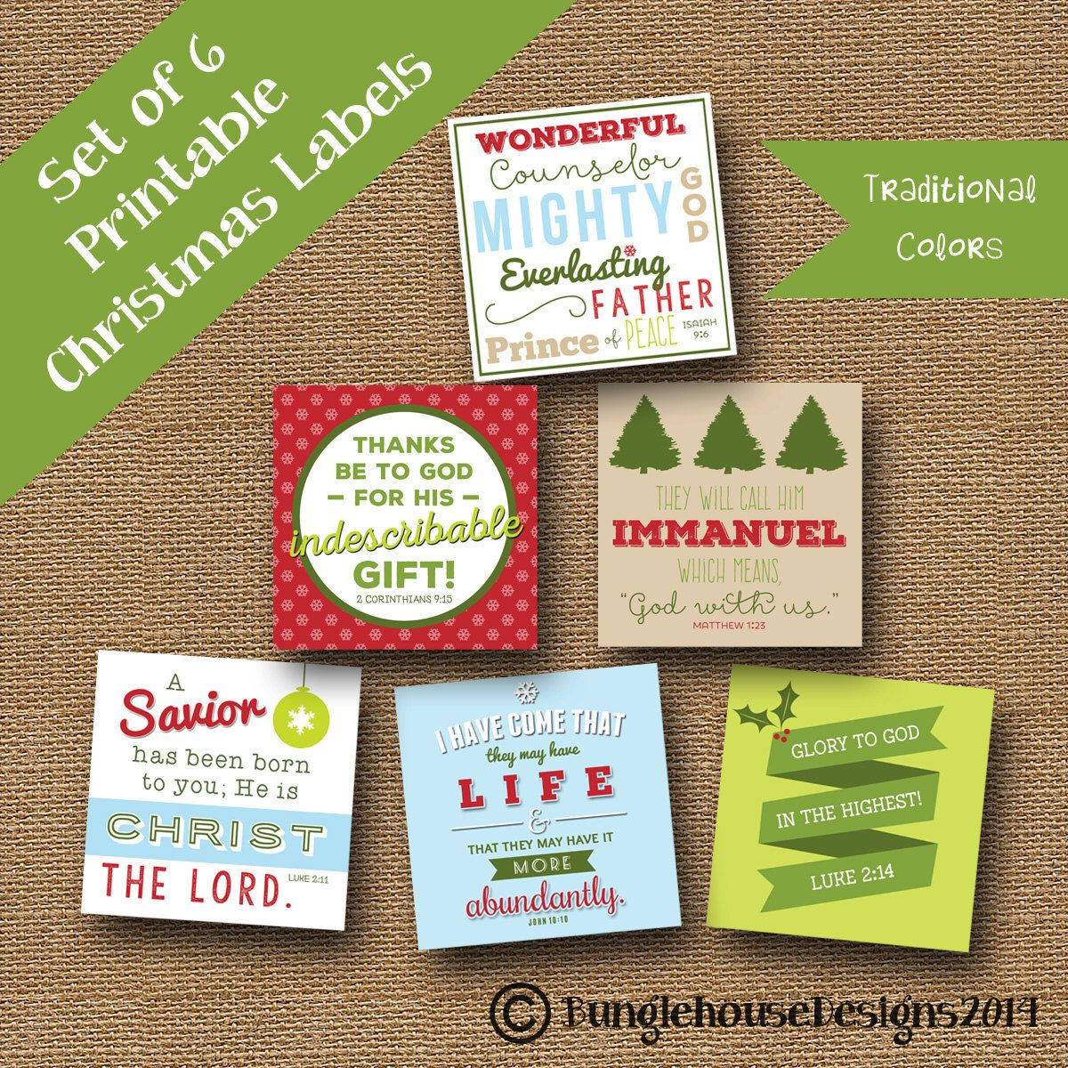 50 off sale printable christmas gift tags bible verse isaiah 9 printable christmas scripture gift tags diy printable retro christmas tags bible verse christian package labels traditional negle Choice Image